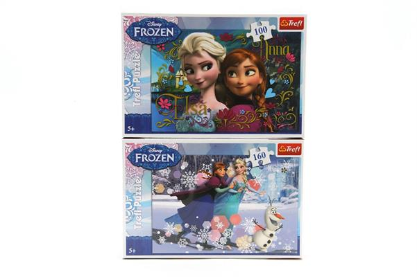 X PUZZLE 'FROZEN' 2/ASS PZ.160/100      24 S