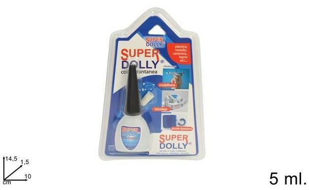 X COLLA 'SUPER DOLLY' GR.5 IN BLISTER    12 O      MINIMO 6