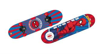 SKATEBOARD CM.80 'SPIDERMAN' DOP/STAMPO  6 $