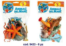 A ANIMALI DEL MARE PZ.6 IN BUSTA 2/ASS   48 $